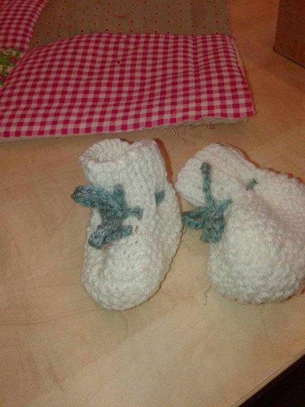bolero et chausson bebe