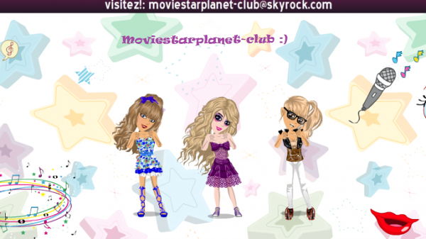 Bienvenue sur moviestarplanet!