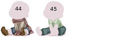 Vêtements de Boutiques Privées 0-6 mois