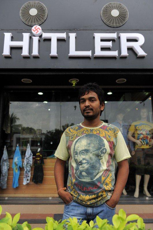 COUP DE GRIFFE – Une boutique de vêtements « Hitler » en Inde.