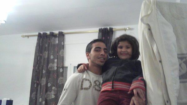 avec ma petite cousine katkouta