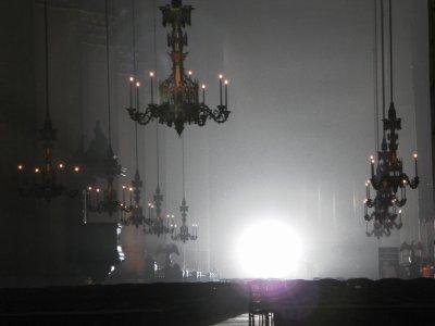 Les églises la nuit, le repère des êtres nocturnes...