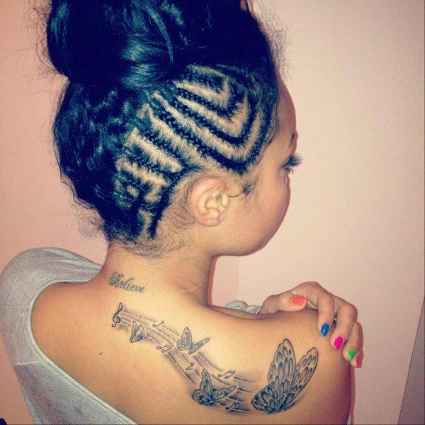 Nouveau tatouage de Leigh-Anne <3 #Mixerement
