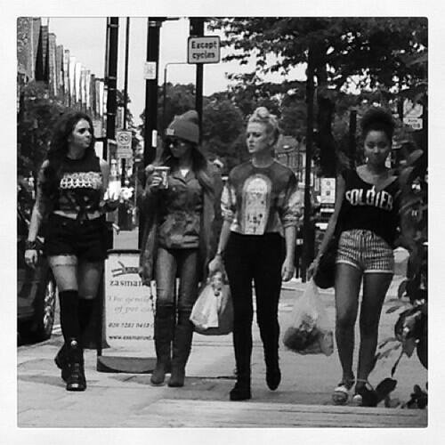 LIttle Mix out in London today {1-07-13} xAx :