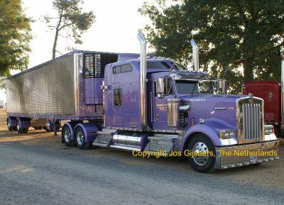 kenworth w900 gaillard issoire france american trucks camions us. Black Bedroom Furniture Sets. Home Design Ideas