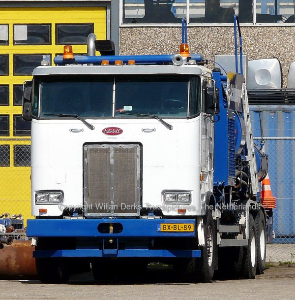 Peterbilt 362 Schlumberger, Coevorden, The Netherlands