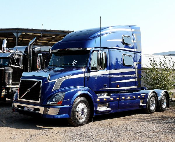 Volvo Vnl780 Belgium American Trucks Camions Us