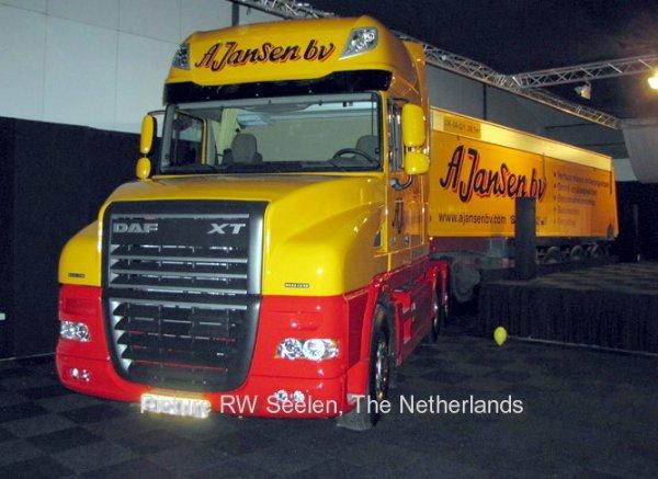 DAF XT105.460 Jansen Nuenen, The Netherlands