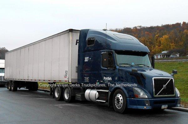 Volvo VN Pottle's Trans Bangor, Maine, USA - American Trucks ...