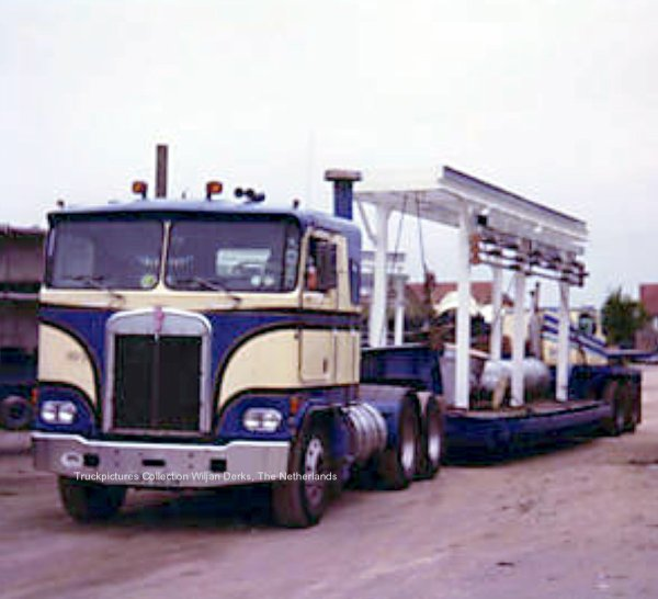 Kenworth K100 Golding, United Kingdom