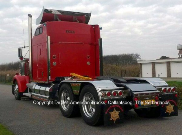 Kenworth W900 De Wit US Trucks, Callantsoog, The Netherlands