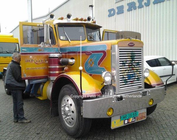 Peterbilt De Rijke, Oostvoorne. The Netherlands