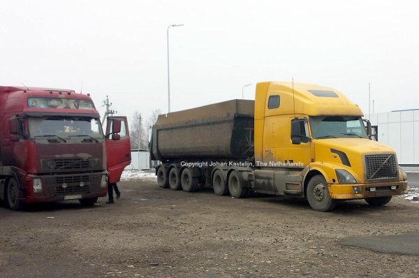 Volvo VN Tipper in Russia