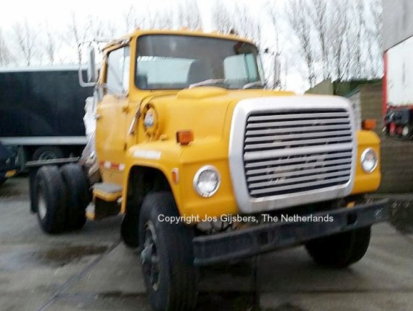 Ford L8000 De Wit, Callantsoog, The Netherlands