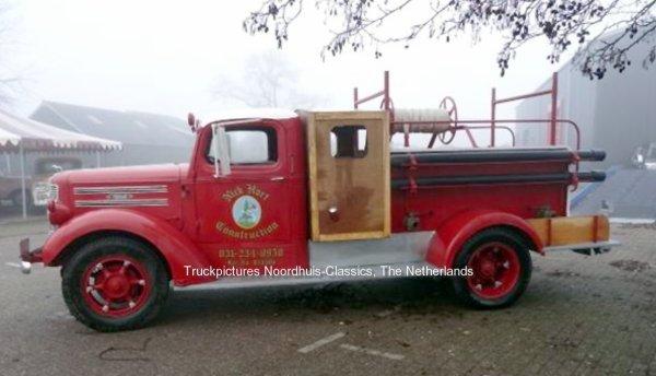 Mack E firetruck Noordhuis-Classics, Nieuwleusen, The Netherlands