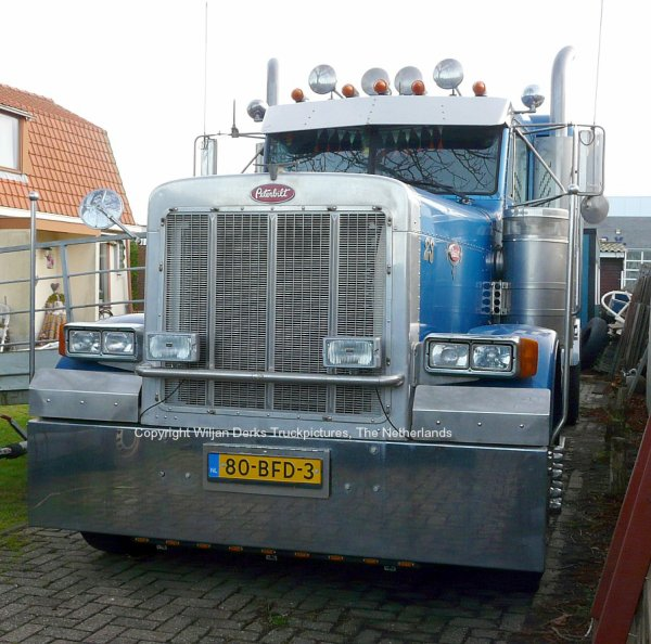 Peterbilt 379 Extreme Products, The Netherlands