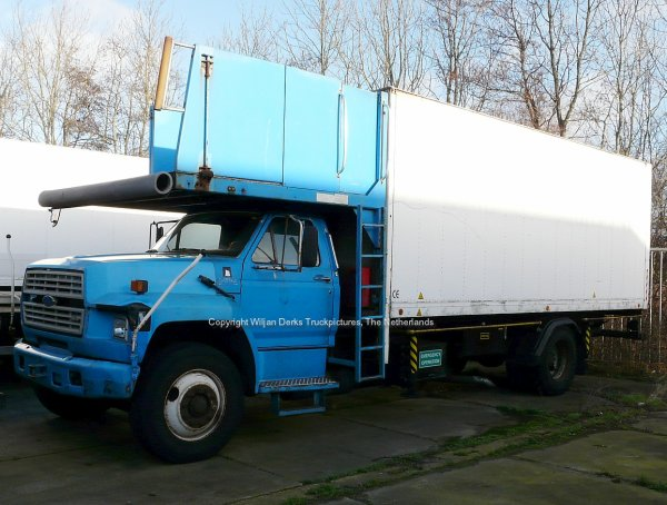 Ford F700 trucks for sale at De Wit, Callantsoog, The Netherlands