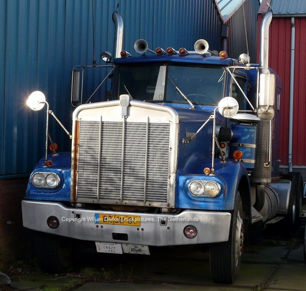 Kenworth W900A Visser, Den Helder, The Netherlands