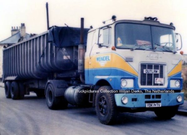 Mack F700 and R600 Wendel Spennymoor, UK