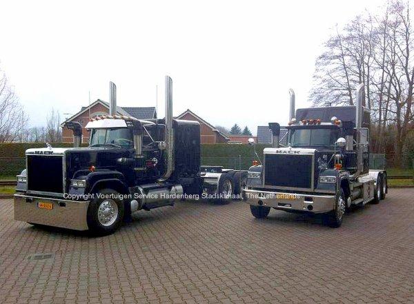 Mack Superliners at VSH Stadskanaal, The Netherlands