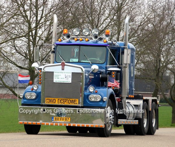Kenworth W900A Bunt, Kesteren, The Netherlands