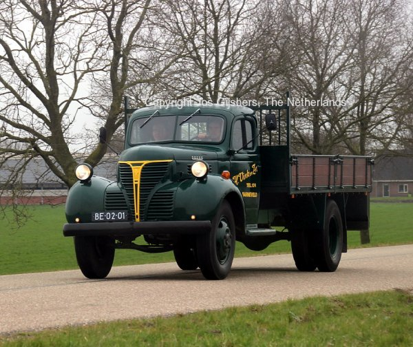Dodge Fargo FL460 Vink, Barneveld, The Netherlands