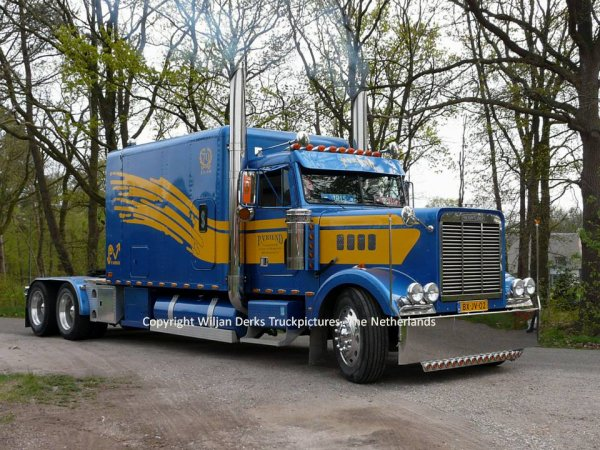 Freightliner Classic Vriend, Hem, The Netherlands