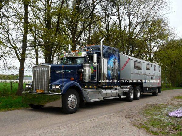 Kenworth W900 Van der Velde, Niebert, The Netherlands