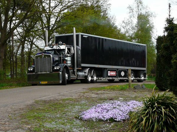 Kenworth W900A De Wit, Callantsoog, The Netherlands