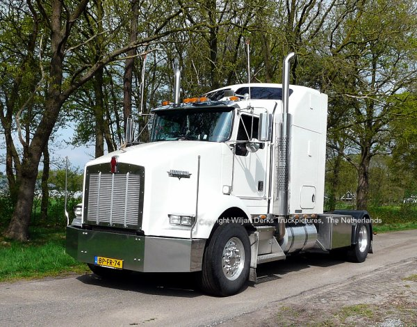 Kenworth T800 Den Hollander, Zwijndrecht, The Netherlands