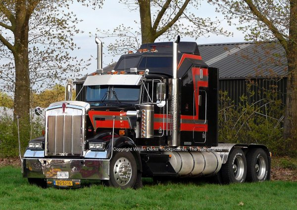 Kenworth W900 Oostwouder, Callantsoog, The Netherlands