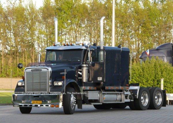 Freightliner Classic for sale at De Wit, Callantsoog, The Netherlands