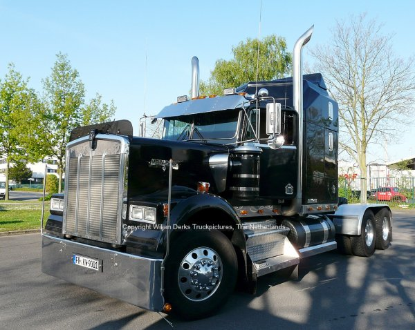 Kenworth W900 Schmidt March Hugstetten, Germany
