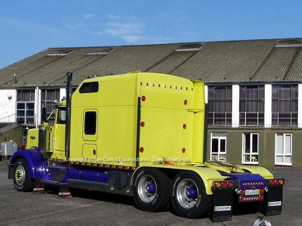 Kenworth W900 Schoepf, Kissing, Germany