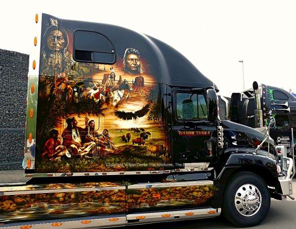 Mack CX Vision MG Trucking, Neuwied, Germany
