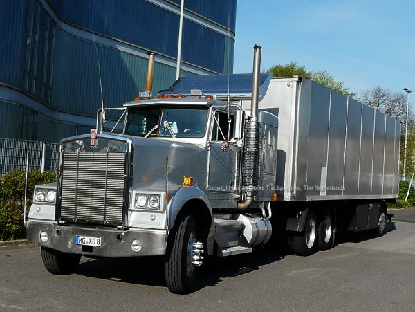 Kenworth W900 Affliction Stage, Monchengladbach, Germany