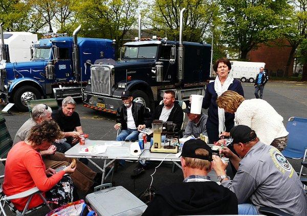 Freightliner Classic Van Bommel, Neerkant, The Netherlands