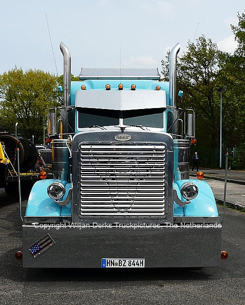 Peterbilt 379 Huber, Bad Rappenau, Germany