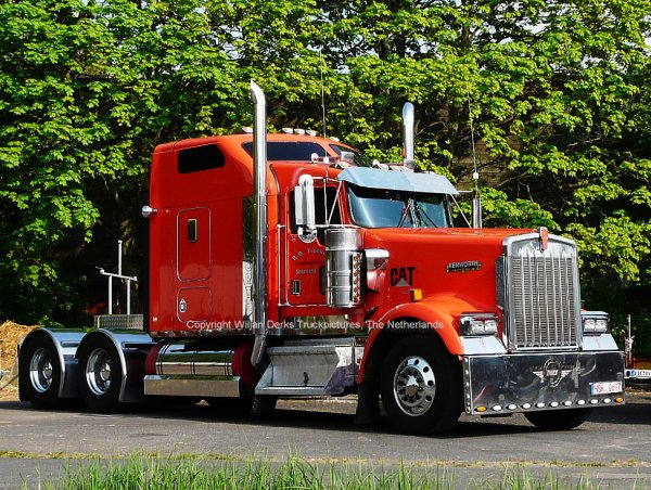 Kenworth W900 R.D. Trucking, Sauerland, Germany