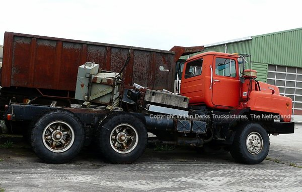 Mack DMM600 Sindorf Ter Apel, Ex Van den Boorn, The Netherlands