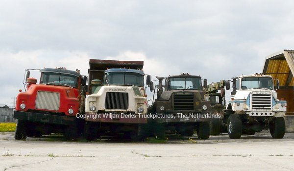 Mack DM600 Sindorf, Ter Apel, The Netherlands