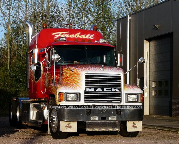 Mack CH613 Fireball, Jager, Leek, The Netherlands