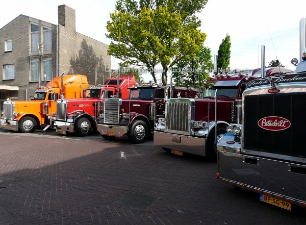 USA Trucks at the Boekel Ronduit day, The Netherlands