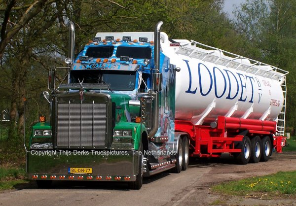 Kenworth W900 Loodet, Breda, The Netherlands