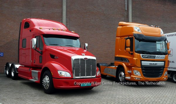 Peterbilt 587 Paccar DAF Demo, Eindhoven, The Netherlands
