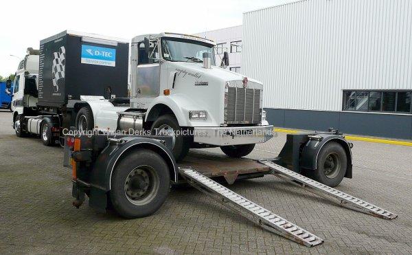 Kenworth T800 Van Gemert, Sint Oedenrode, The Netherlands
