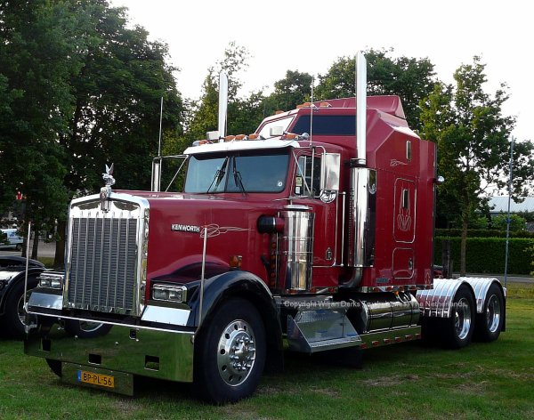 Kenworth W900 Verberne, Lierop, The Netherlands