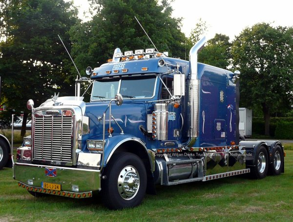 Freightliner Classic Eggers, Jisp, The Netherlands