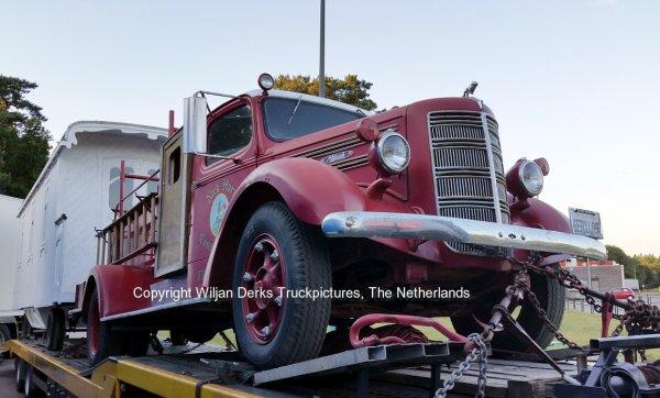 Mack Firetruck 1941 sold by Noordhuis Nieuwleusen, The Netherlands