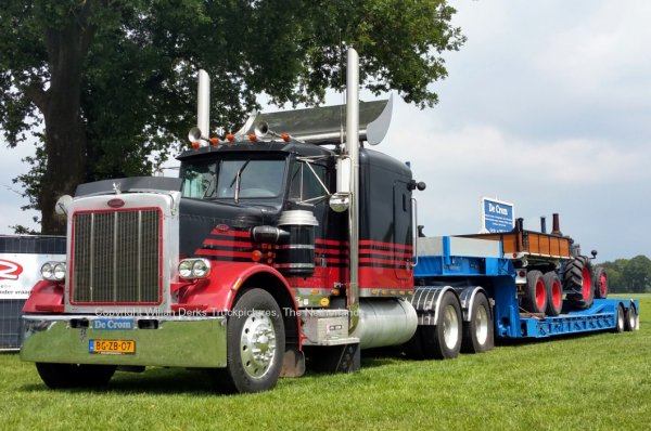Peterbilt 359 De Crom, Veldhoven, The Netherlands